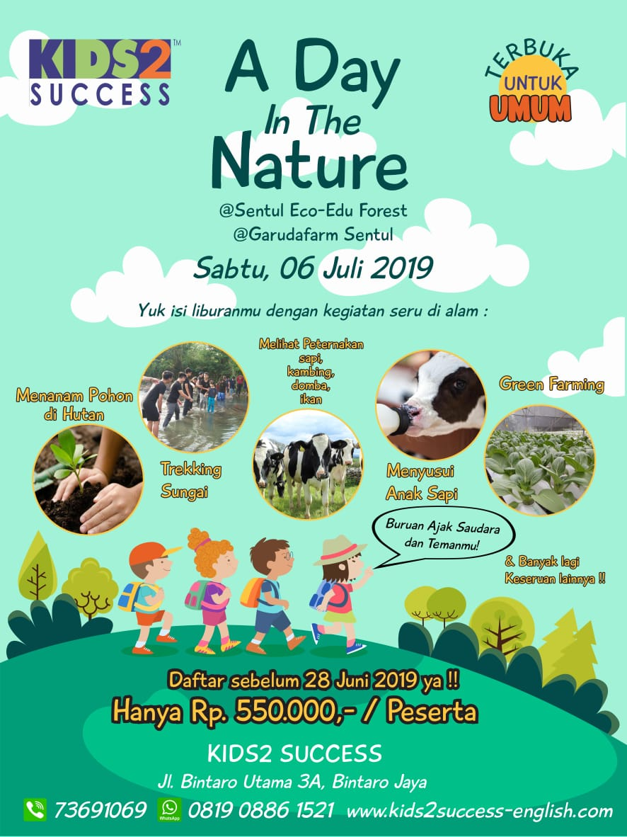 A Day in the Nature – Kids2 Success' Holiday Trip